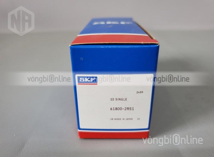 Vòng bi 61800-2RS1 chính hãng SKF - Vòng bi Online