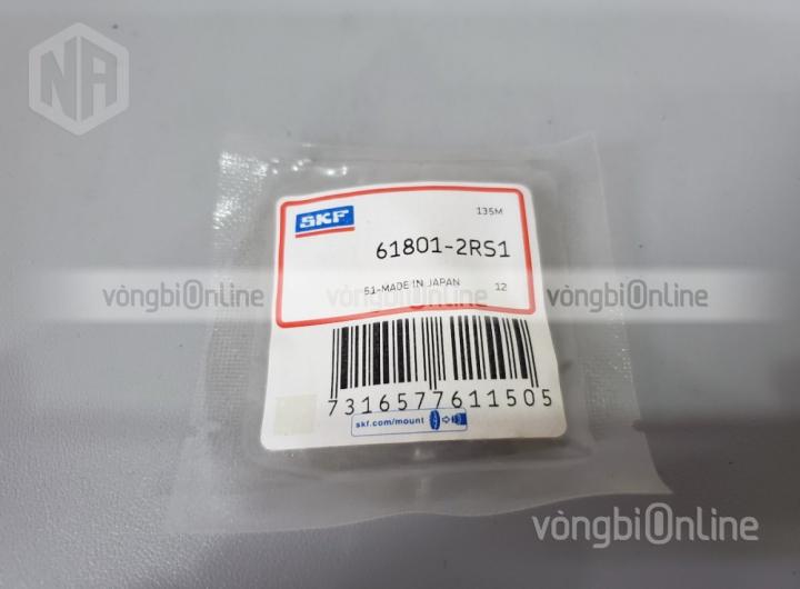 Vòng bi 61801-2RS1 chính hãng SKF - Vòng bi Online