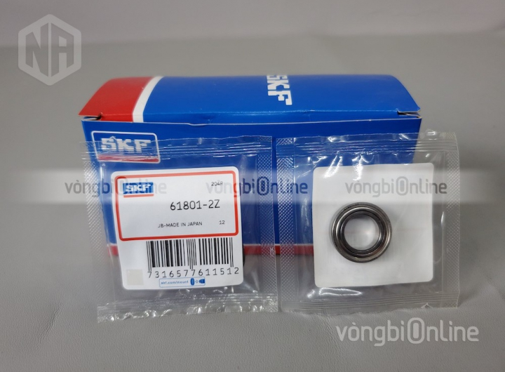 Vòng bi 61801-2Z chính hãng SKF - Vòng bi Online