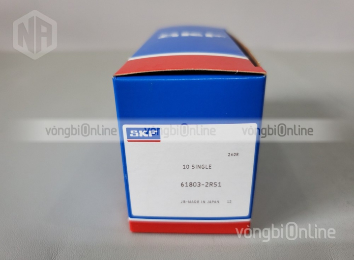 Vòng bi 61803-2RS1 chính hãng SKF - Vòng bi Online