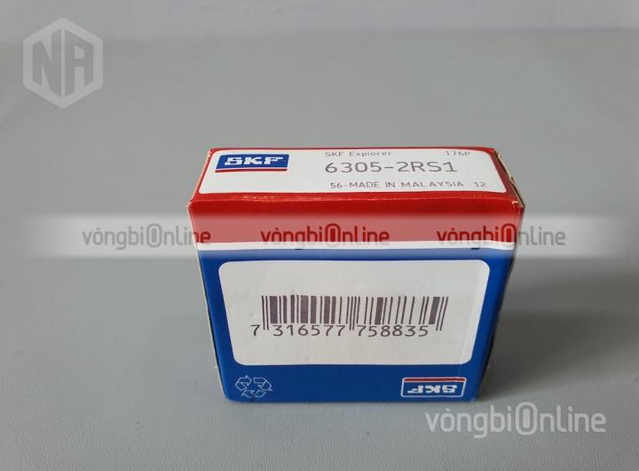 Vòng bi 6305-2RS1 chính hãng SKF - Vòng bi Online