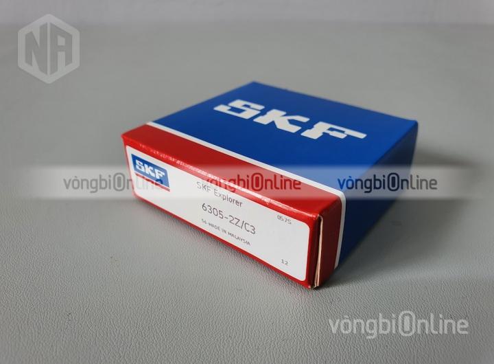 Vòng bi 6305-2Z/C3 chính hãng SKF - Vòng bi Online