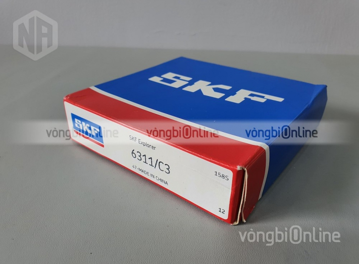 Vòng bi 6311/C3 chính hãng SKF - Vòng bi Online