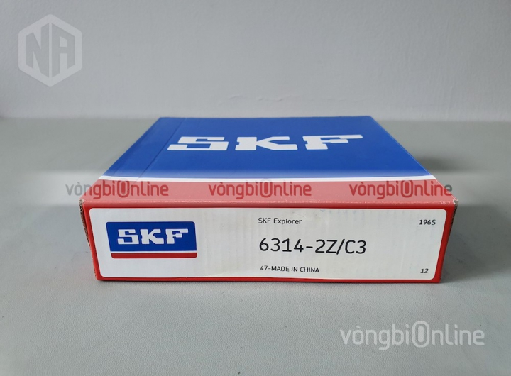 Vòng bi 6314-2Z/C3 chính hãng SKF - Vòng bi Online