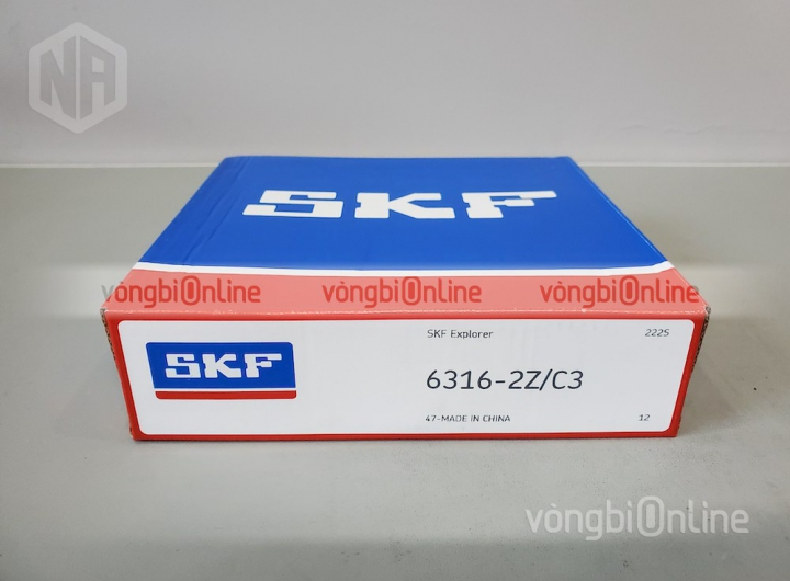 Vòng bi 6316-2Z/C3 chính hãng SKF - Vòng bi Online