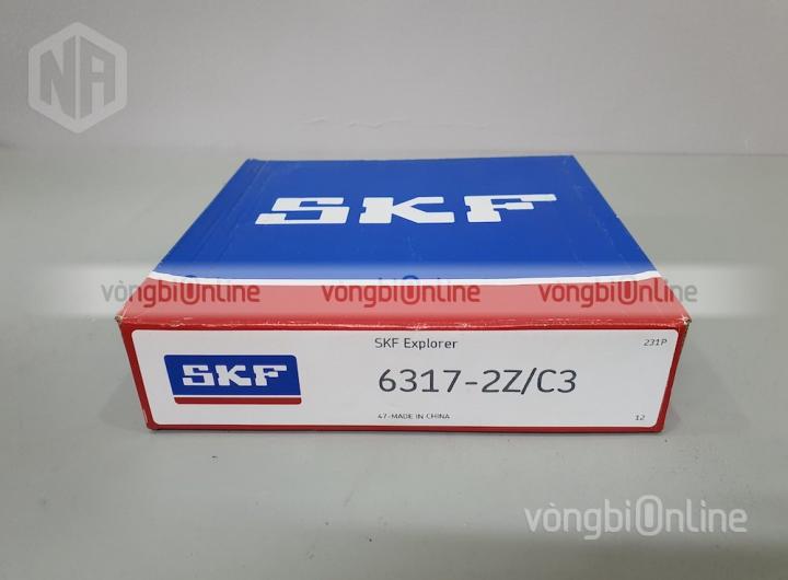 Vòng bi 6317-2Z/C3 chính hãng SKF - Vòng bi Online