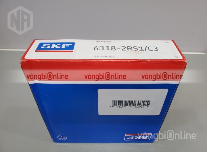 Vòng bi 6318-2RS1/C3 chính hãng SKF - Vòng bi Online