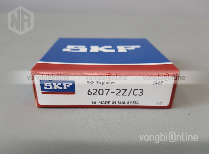 Vòng bi 6207-2Z/C3 chính hãng SKF - Vòng bi Online