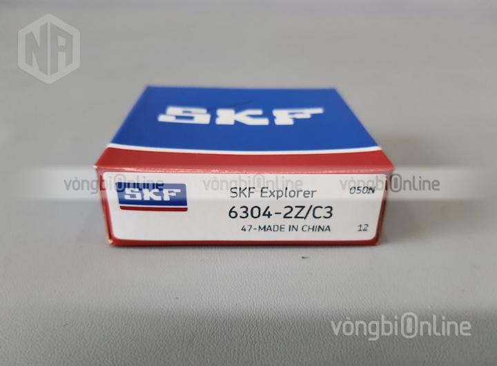 Vòng bi 6304-2Z/C3 chính hãng SKF - Vòng bi Online