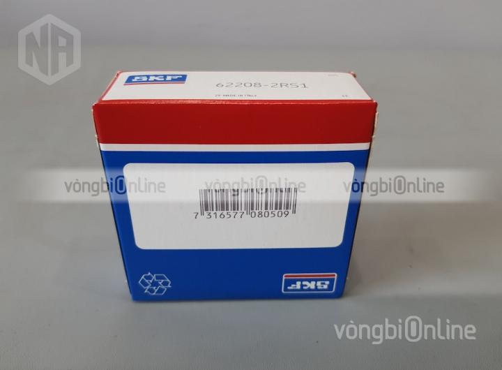 Vòng bi 62208-2RS1 chính hãng SKF - Vòng bi Online