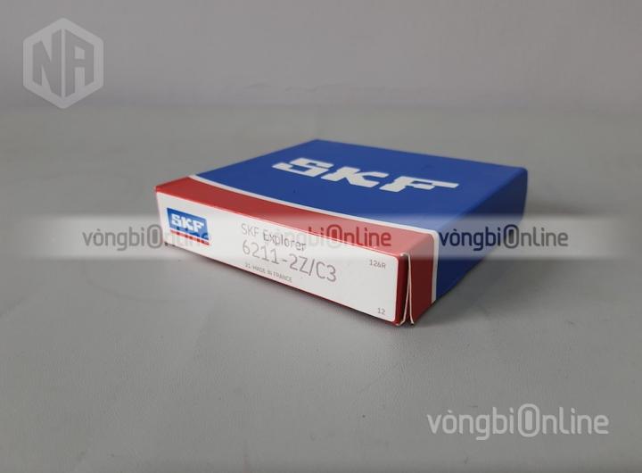 Vòng bi 6211-2Z/C3 chính hãng SKF - Vòng bi Online