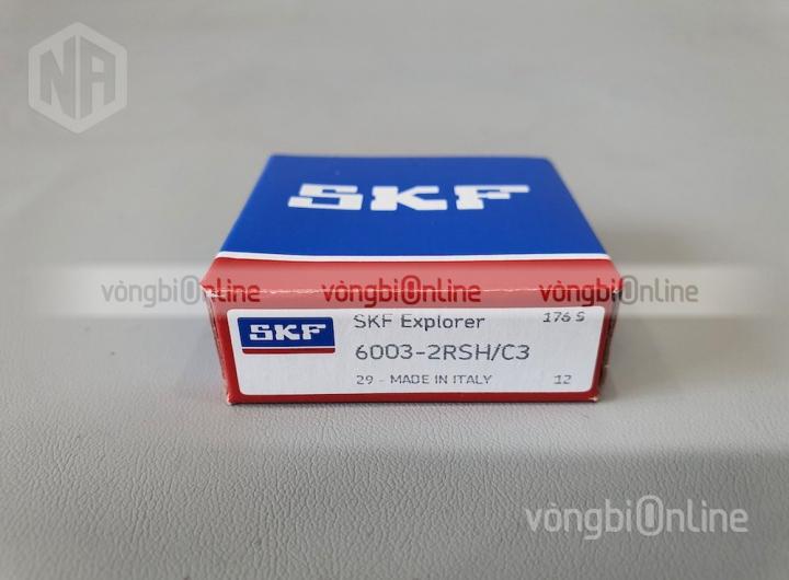 Vòng bi 6003-2RSH/C3 chính hãng SKF - Vòng bi Online