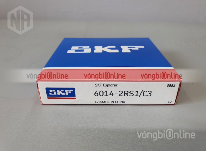 Vòng bi 6014-2RS1/C3 chính hãng SKF - Vòng bi Online