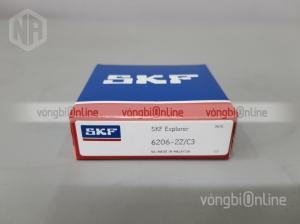 Vòng bi SKF 6206-2Z/C3