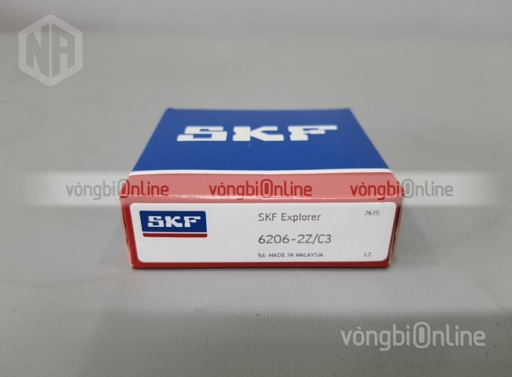 Vòng bi 6206-2Z/C3 chính hãng SKF - Vòng bi Online