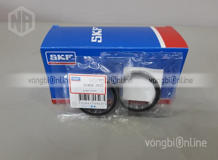 Vòng bi 61808-2RS1 chính hãng SKF - Vòng bi Online