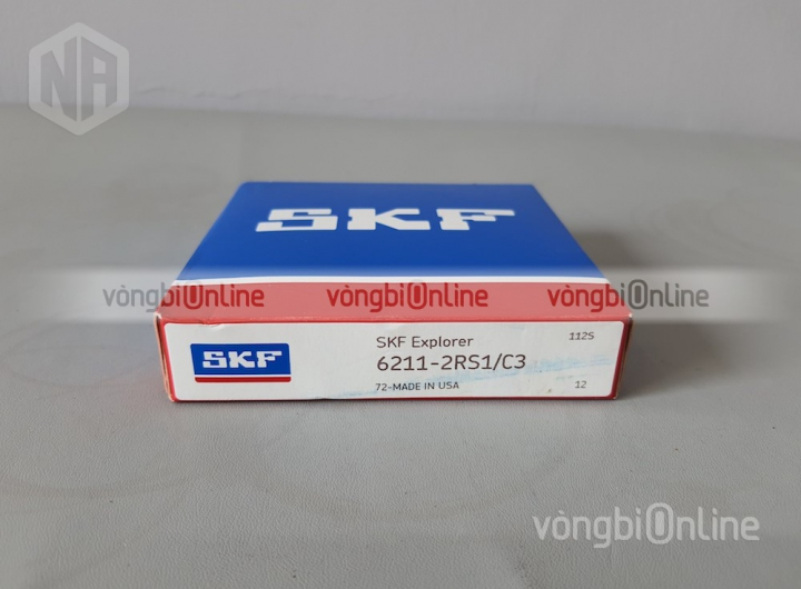 Vòng bi 6211-2RS1/C3 chính hãng SKF - Vòng bi Online
