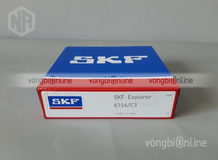 Vòng bi 6316/C3 chính hãng SKF - Vòng bi Online