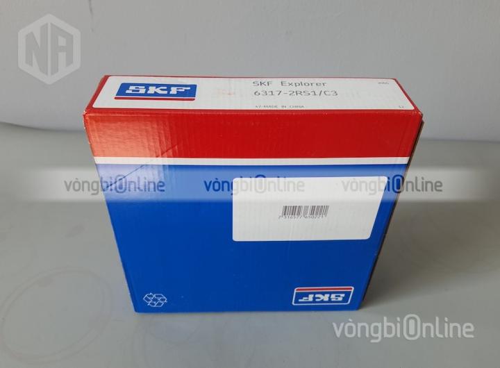 Vòng bi 6317-2RS1/C3 chính hãng SKF - Vòng bi Online