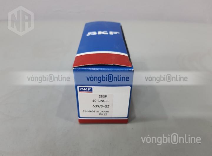 Vòng bi 639/3-2Z chính hãng SKF - Vòng bi Online