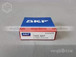 Vòng bi SKF 7205 BEP