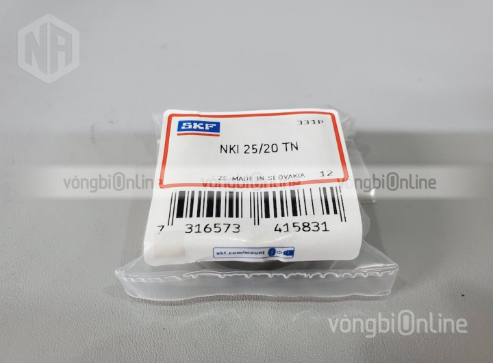 Vòng bi NKI 25/20 TN chính hãng SKF - Vòng bi Online
