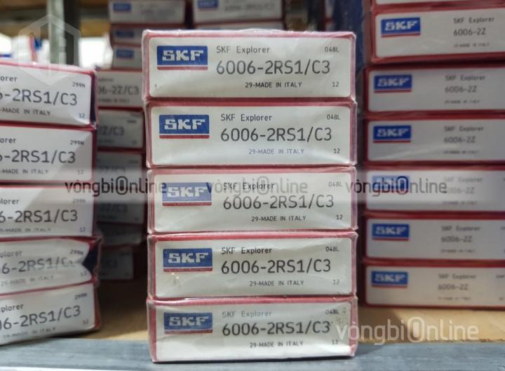 Vòng bi SKF 6006-2RS1/C3 chính hãng, Đại lý ủy quyền vòng bi SKF