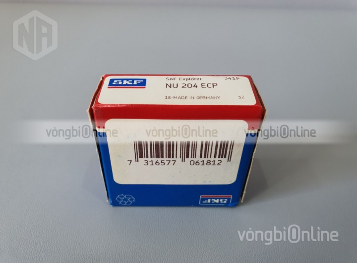 Vòng bi NU 204 ECP chính hãng SKF - Vòng bi Online