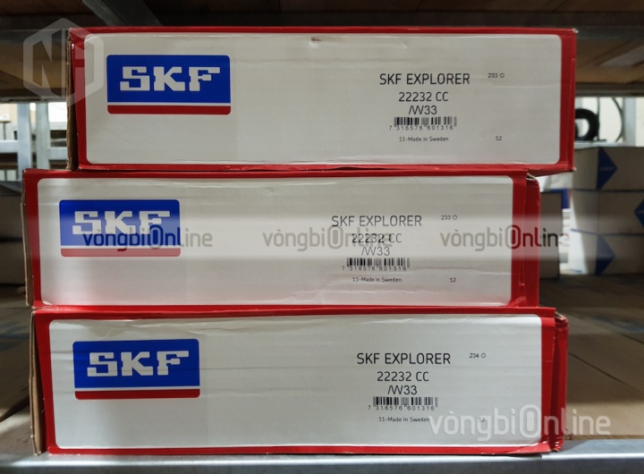 Vòng bi SKF 22232 CC/W33 chính hãng, Đại lý ủy quyền vòng bi SKF