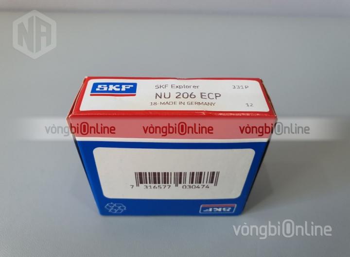 Vòng bi NU 206 ECP chính hãng SKF - Vòng bi Online