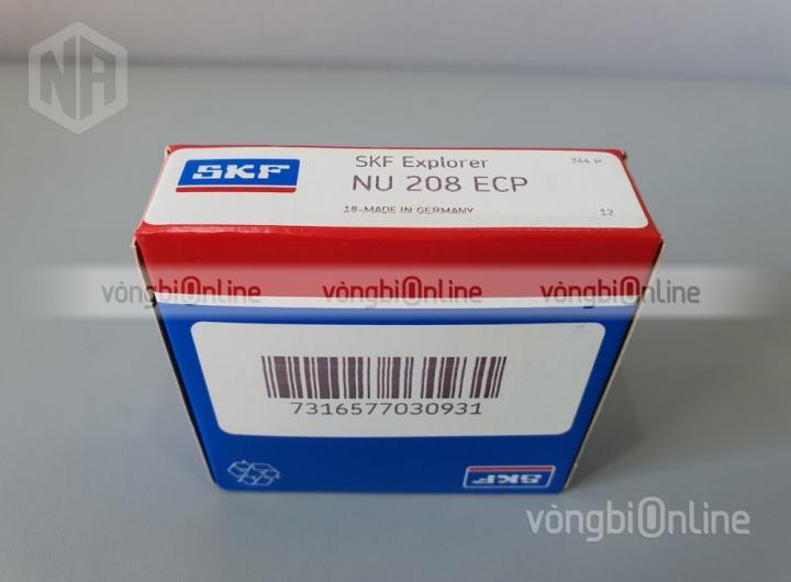 Vòng bi NU 208 ECP chính hãng SKF - Vòng bi Online