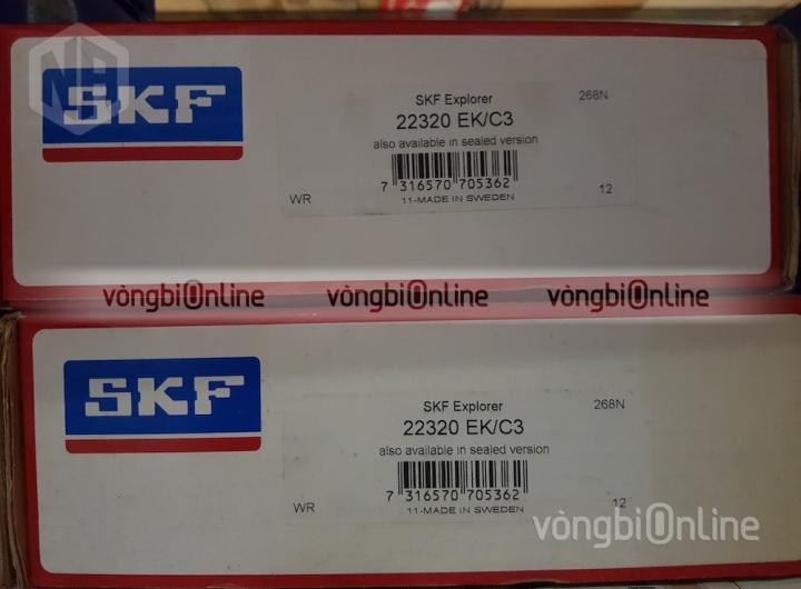 Vòng bi SKF 22320 EK/C3 chính hãng, Đại lý ủy quyền vòng bi SKF