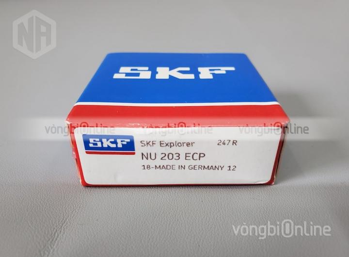 Vòng bi NU 203 ECP chính hãng SKF - Vòng bi Online