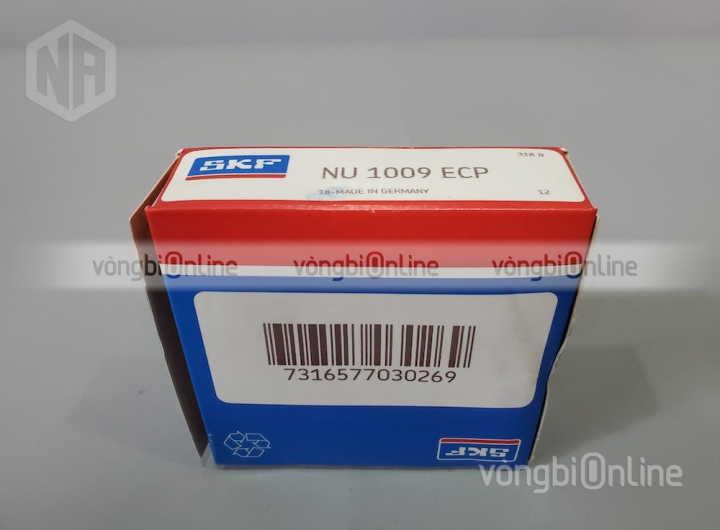 Vòng bi NU 1009 ECP chính hãng SKF - Vòng bi Online