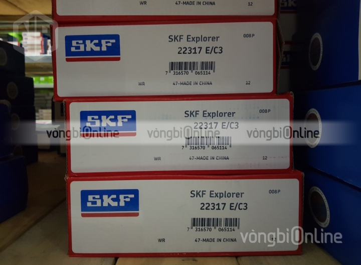 Vòng bi SKF 22317 E/C3 chính hãng, Đại lý ủy quyền vòng bi SKF