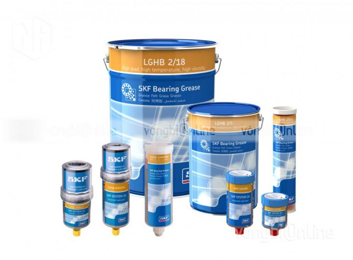 Mỡ SKF LGHB 2/5 - Mỡ chịu nhiệt độ cao SKF chính hãng - Đại lý uỷ quyền SKF