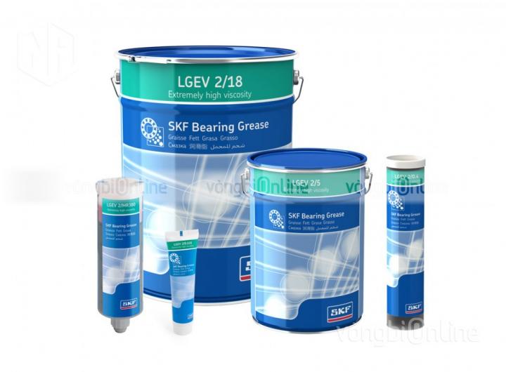 Mỡ SKF LGEV 2/5 - Mỡ EP với phụ gia Disulphite Molybden