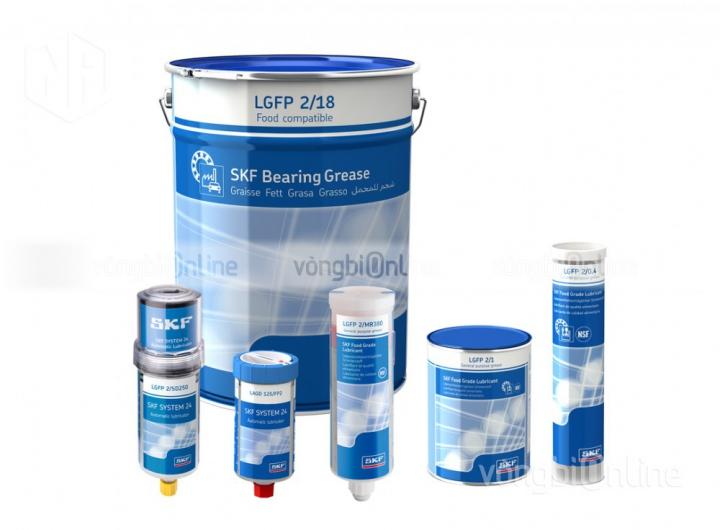 Mỡ SKF LGFP 2/1 - Mỡ dành cho ngành thực phẩm SKF