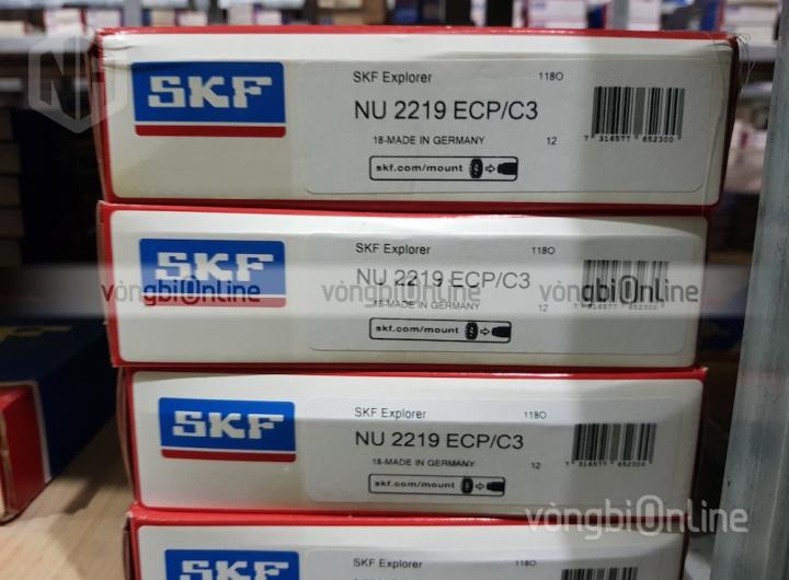 Vòng bi SKF NU 2219 ECP/C3 chính hãng, Đại lý ủy quyền vòng bi SKF
