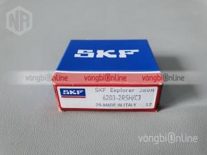Vòng bi SKF 6203-2RSH/C3