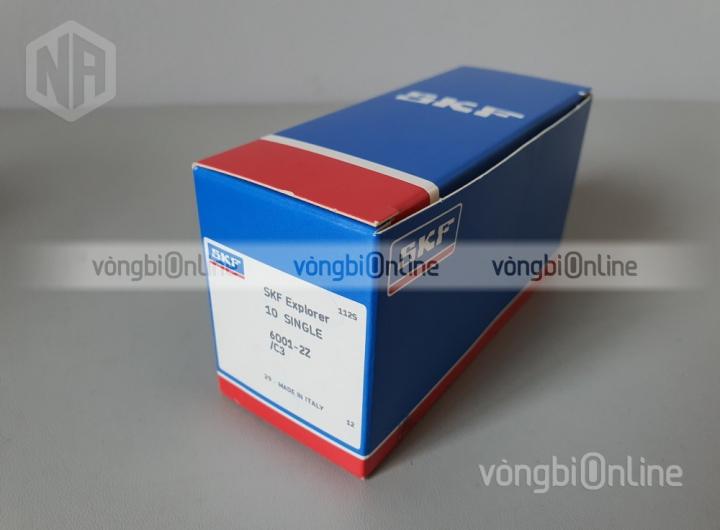 Vòng bi 6001-2Z/C3 chính hãng SKF - Vòng bi Online