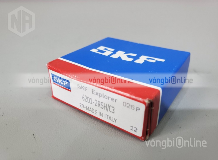 Vòng bi 6201-2RSH/C3 chính hãng SKF - Vòng bi Online
