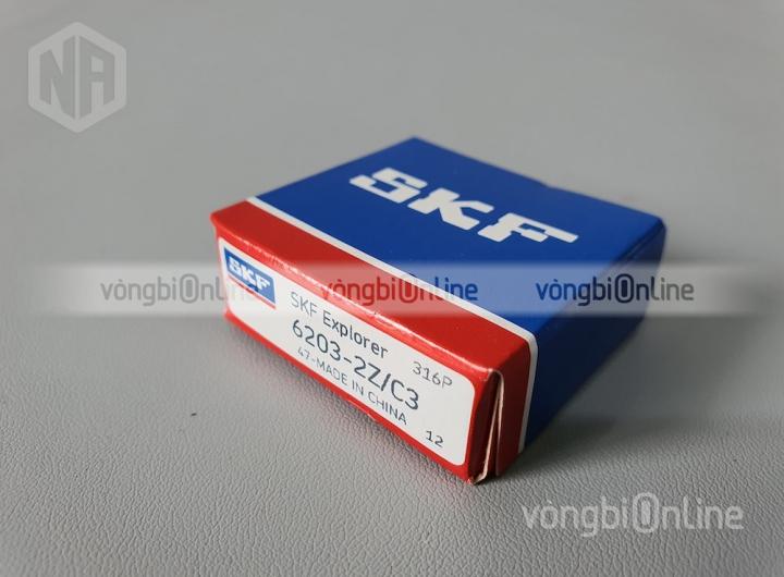 Vòng bi 6203-2Z/C3 chính hãng SKF - Vòng bi Online