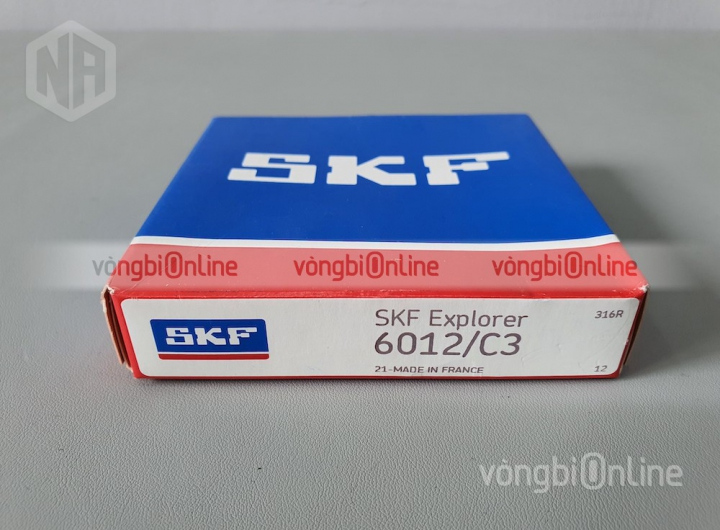 Vòng bi 6012/C3 chính hãng SKF - Vòng bi Online