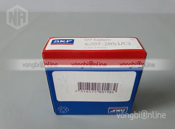 Vòng bi 6207-2RS1/C3 chính hãng SKF - Vòng bi Online