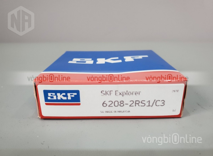 Vòng bi 6208-2RS1/C3 chính hãng SKF - Vòng bi Online