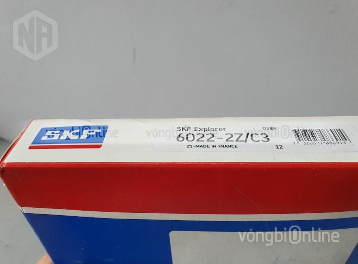 Vòng bi 6022-2Z/C3 chính hãng SKF - Vòng bi Online