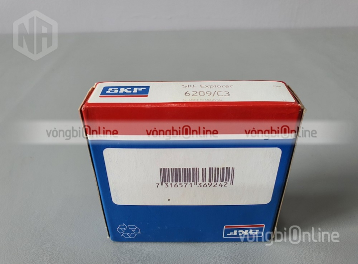 Vòng bi 6209/C3 chính hãng SKF - Vòng bi Online